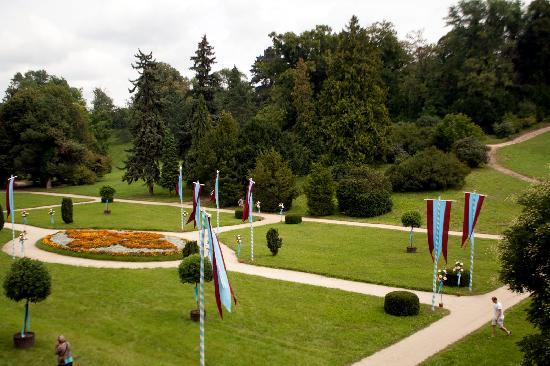 Valtice Castle Garden