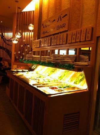 Suki-Ya : buffet area