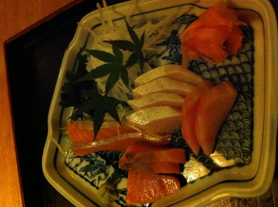 Restaurante Japones Ran: sashimi