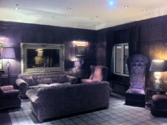 Slaley, UK: One of the Lounge areas