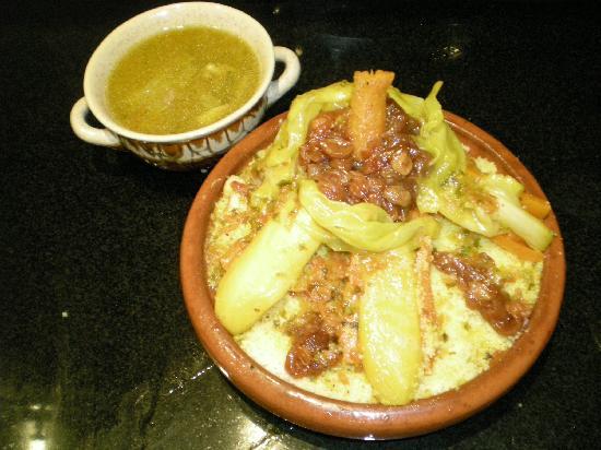 Riad Harmonia : Le couscous d'Hanane