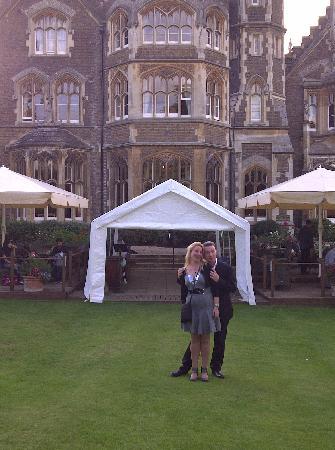 The Oakley Court: Hochzeitstag