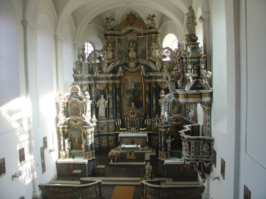 Wasserburg: Church of Monastry Marienstuhl