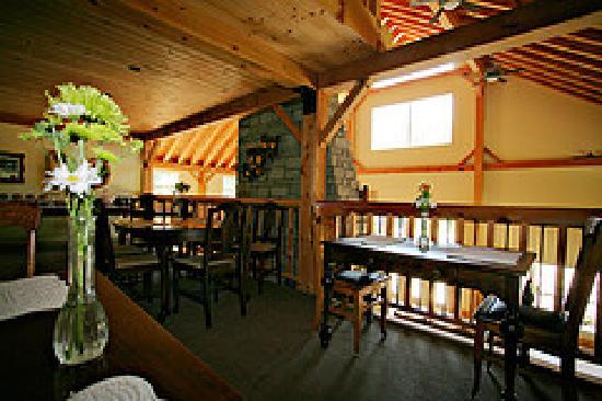Timber House Resort : Loft Breakfast/Dining Area