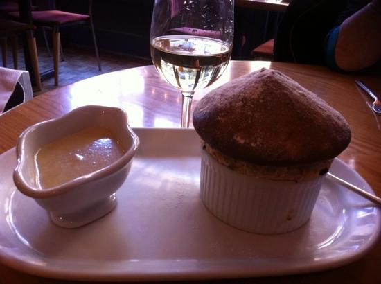 Ransome's Dock: Ransomes Armagnac Souffle