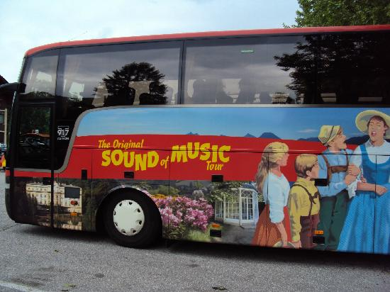 Panorama Tours Original Sound of Music Tour: the sound of music tour bus