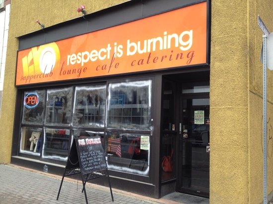 Respect is Burning Kitchen + Bar: great food