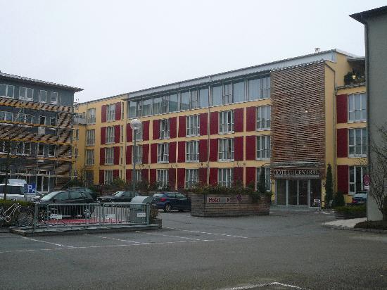 Hotel Central Regensburg CityCentre : Hotelansicht