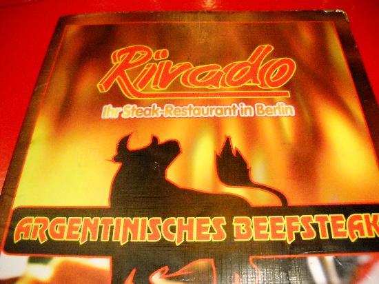 Rivado : menu