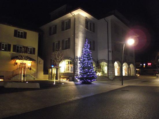 Hotel Roc et Neige: Christmas in Chateau-d'Oex