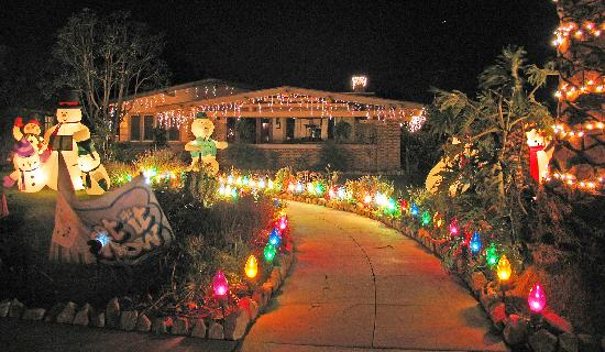 Christmas Tree Lane - Picture of Oxnard