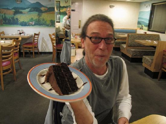 Niko's SkyView Diner: ...enough to share--but Mark ate it all himself!