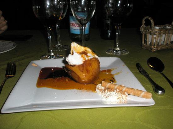Aguilar de Campoo, Spain: Mi rico postre que comi