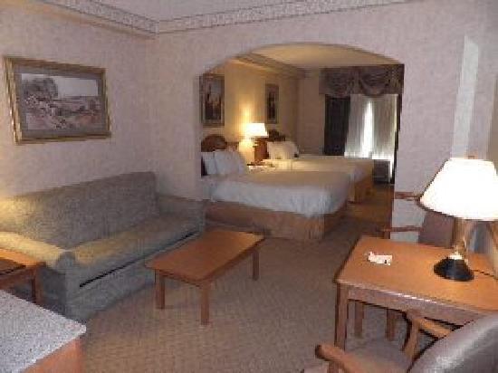 Comfort Suites Clifton Park: Standard Queen Queen Suite