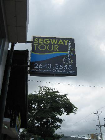 Segway Tours of Costa Rica: Segway Shop in Jaco Beach main road