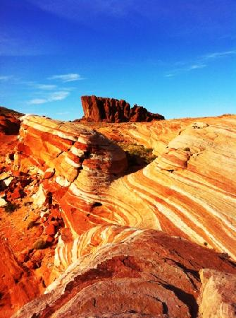 Valley of Fire State Park: the wave