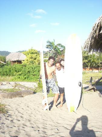Hostel Viejamar Surf : Surfen lernen