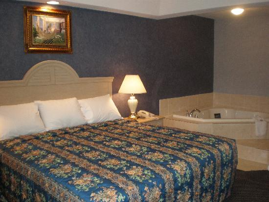 Red Carpet Inn & Suites Smithville: Dulex King Jacuzzi Room
