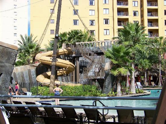 Wyndham Grand Orlando Resort Bonnet Creek Pirate Pool Slide