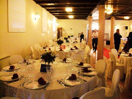 Casale San Fedele: sala banchetto