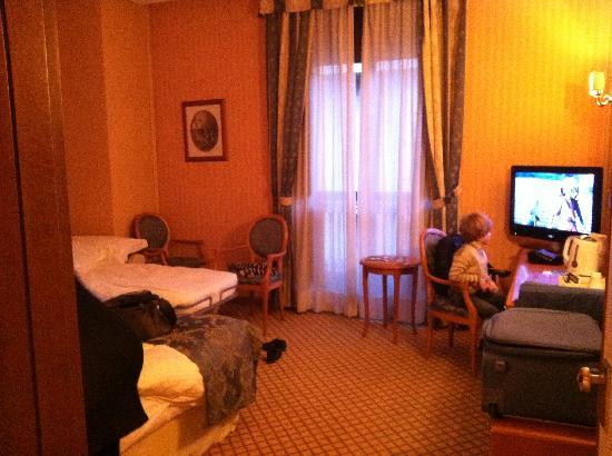 Concord Hotel: la stanza