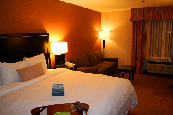 Hampton Inn Portland-Airport: Room 409
