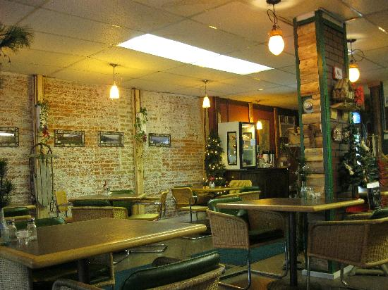 The Great Adirondack Soup Company dining area.