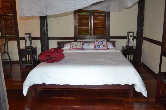 Lao Spirit Resort : our room