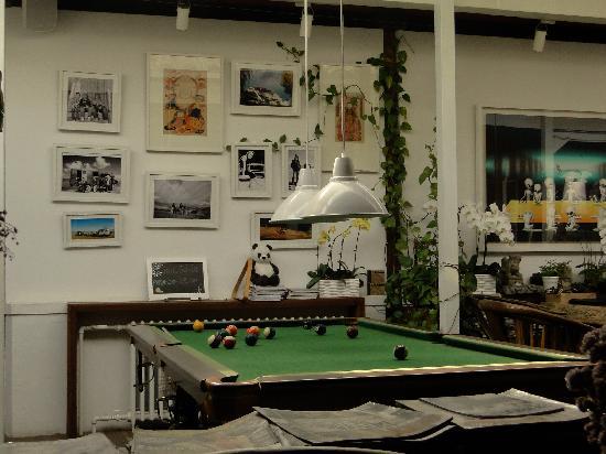 Peking Yard Hostel: Lobby