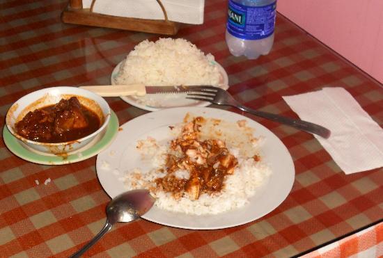Sandro: Guisado dish with rice