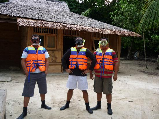 Patuno Resort Wakatobi: Snorkelling team