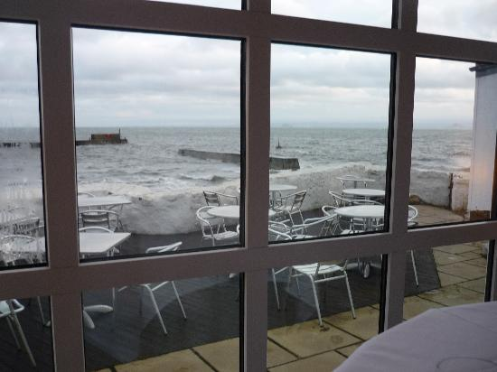 Craig Millar @ 16 West End: Sea view on a windy December day!