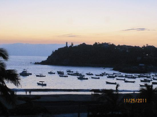Hotel Flor de Maria: View of Harbor from Rooftop