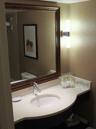 โรงแรมเดลตา แวนคูเวอร์แอร์พอร์ต: Modern bathroom