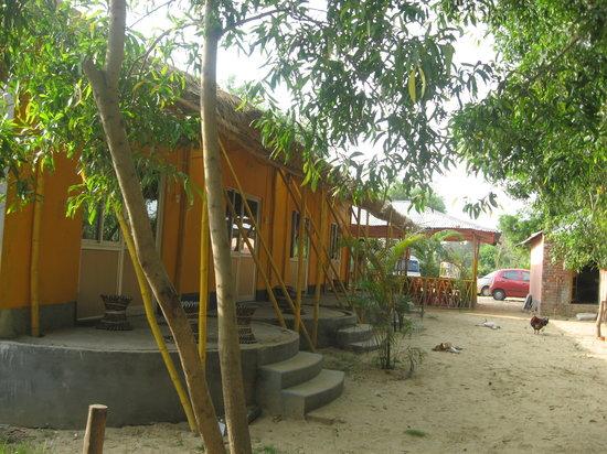 Tajpur Nature Camp: Concrete rooms