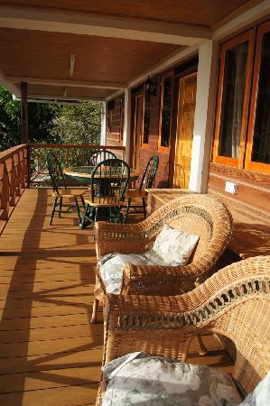 Nature Island Dive Resort: Balcony