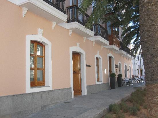 Hotel Mirador de Dalt Vila : Front of Hotel