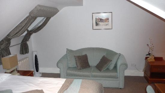Duxford Lodge: Bedroom