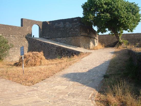 Diu Fort : Rampants inside fort