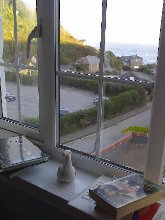The Driftwood Spars B & B: view from our bedroom window