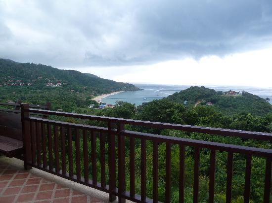 Baan KanTiang See Villa Resort (2 bedroom villas): view from the terrace