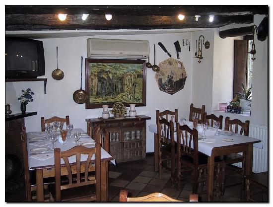Restaurante Posada Tintes: Posada por dentro