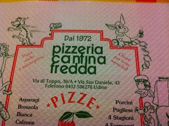 Pizzeria Cantina Fredda: Il logo.