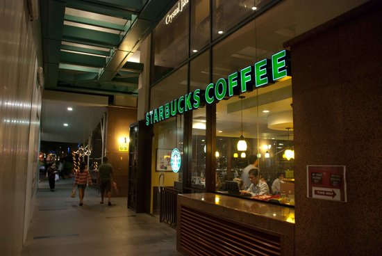 Starbucks Plaza Singapura