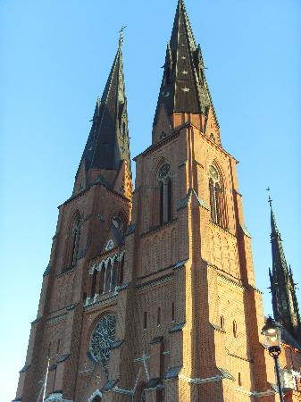 Uppsala Cathedral: Cattedrale di Uppsala Fronte