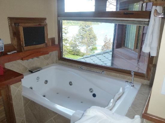 Charming Luxury Lodge & Private Spa : DUCHA HIDROMASAJE
