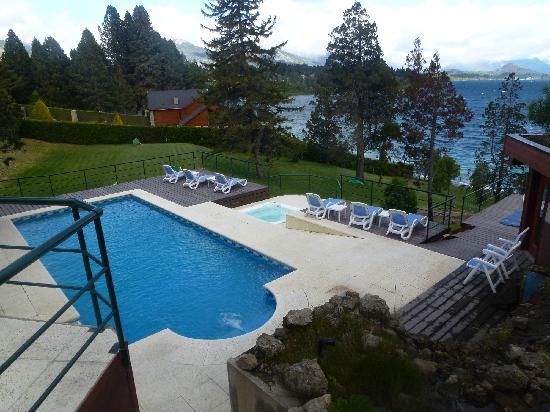 Charming Luxury Lodge & Private Spa : PISCINA CLIMATIZADA