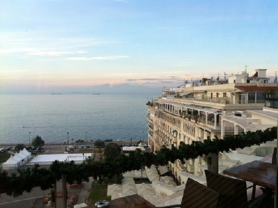 Electra Palace Thessaloniki Hotel View From Roof Garden