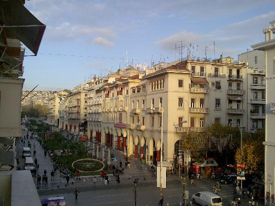 Electra Palace Thessaloniki Hotel View From My Room