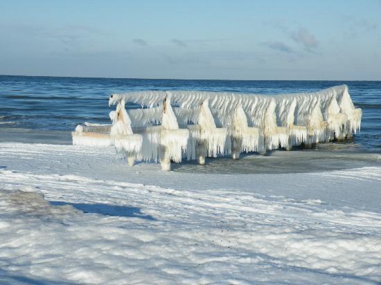 Heiligenhafen Ferienpark: Bizarre Winterfreuden !